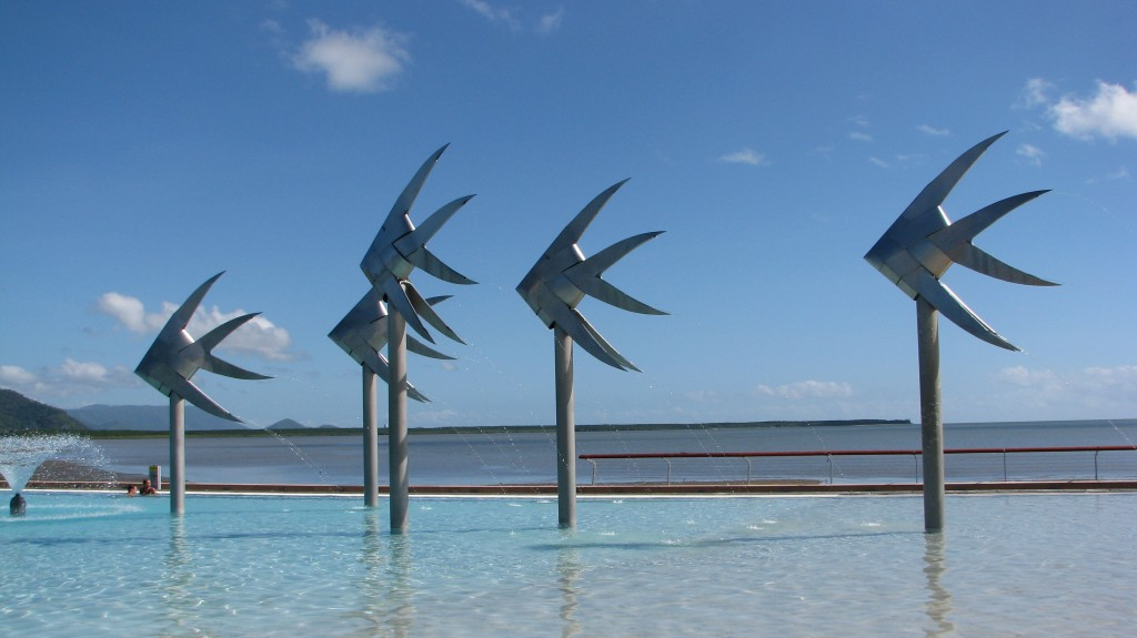 The beautiful Cairns Lagoon… | Study with us in paradise!