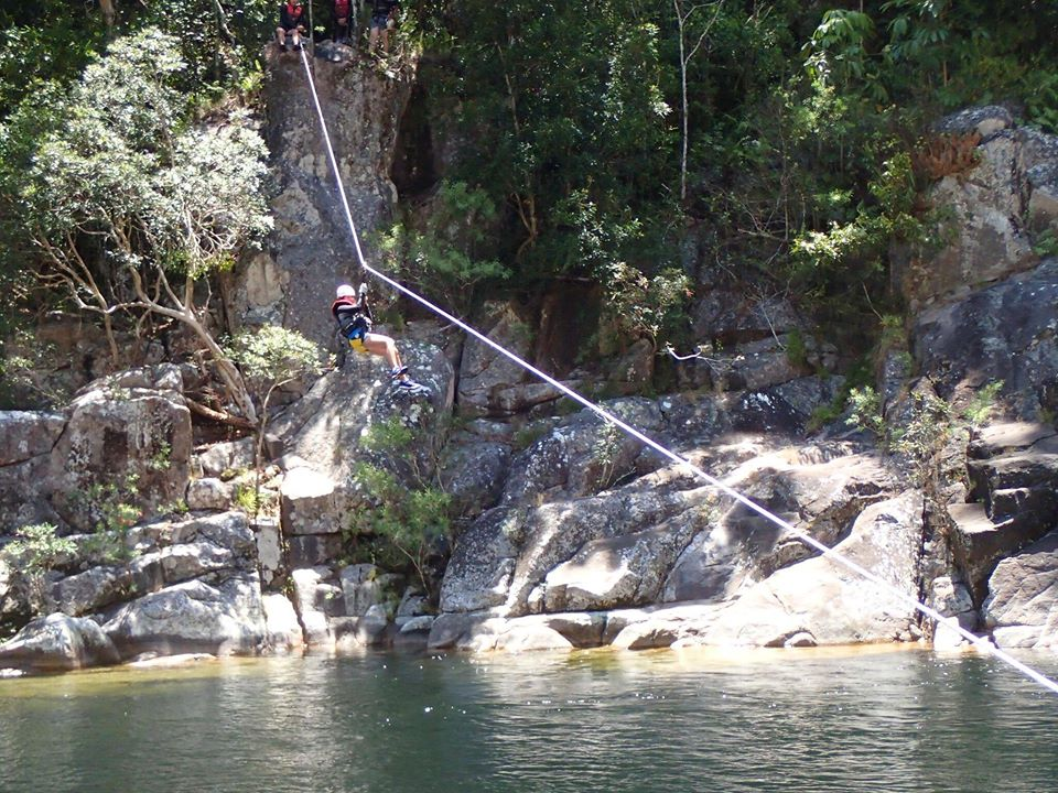 Zip Line in the paradise