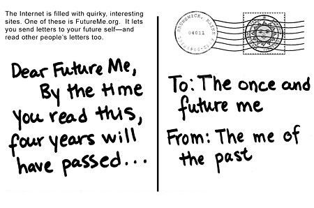 Dear future me… | Study with us in paradise!